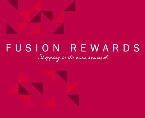 Fusion Rewards - Shopping is its own reward