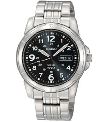 Seiko Men's Solar Watch  (SNE095P)