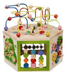 Everearth 7 in 1 Garden Activity Cube